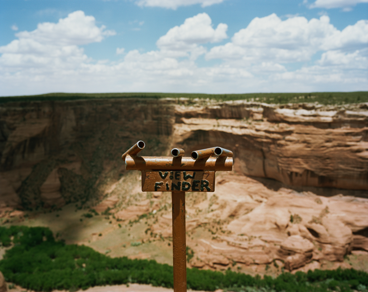Viewfinder, Canyon De Chelly National Monument, Arizona