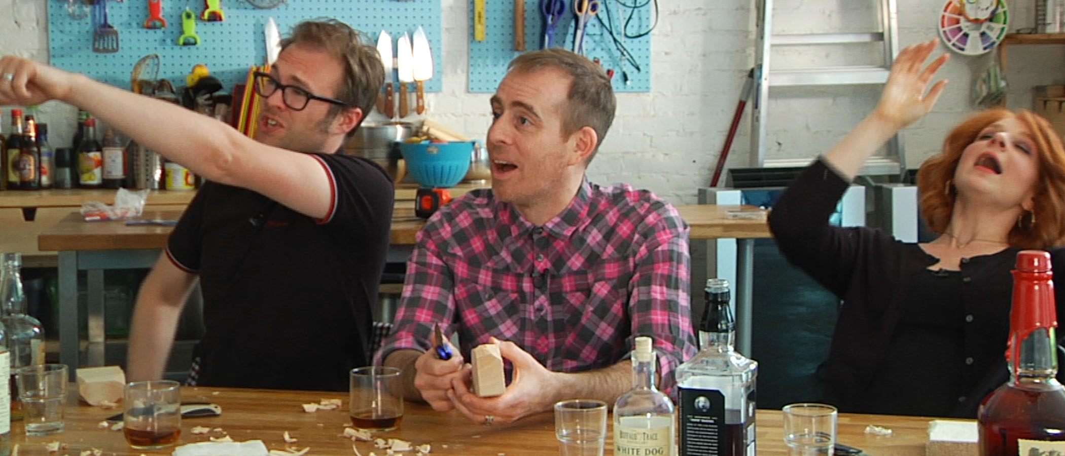 Whiskey & Whittling with Julie Klausner and Ted Leo