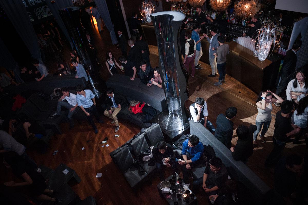 Bar and dancefloor