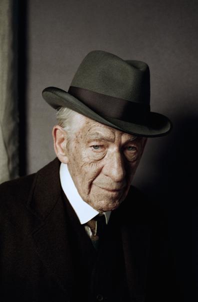 """Ian McKellen as """"Mr. Holmes"""""""