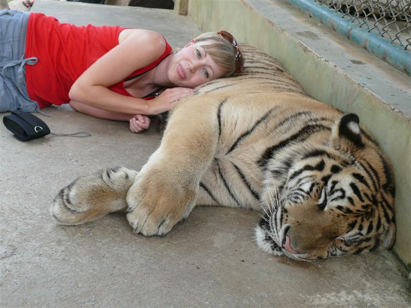 Naptime in Thailand