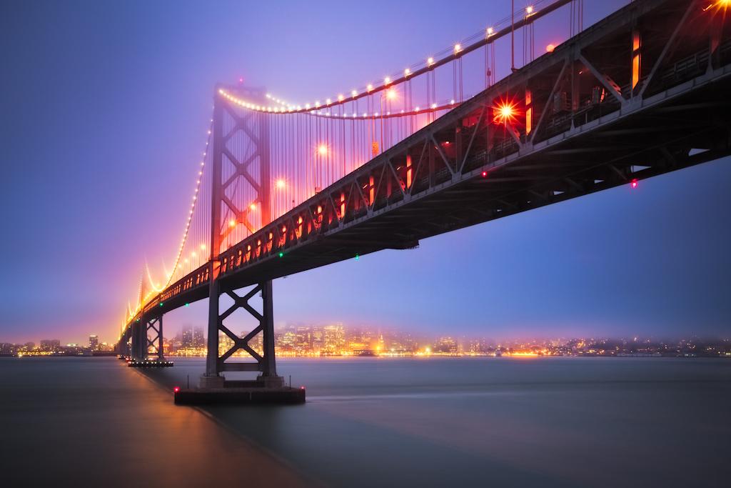 Bay Bridge Glow