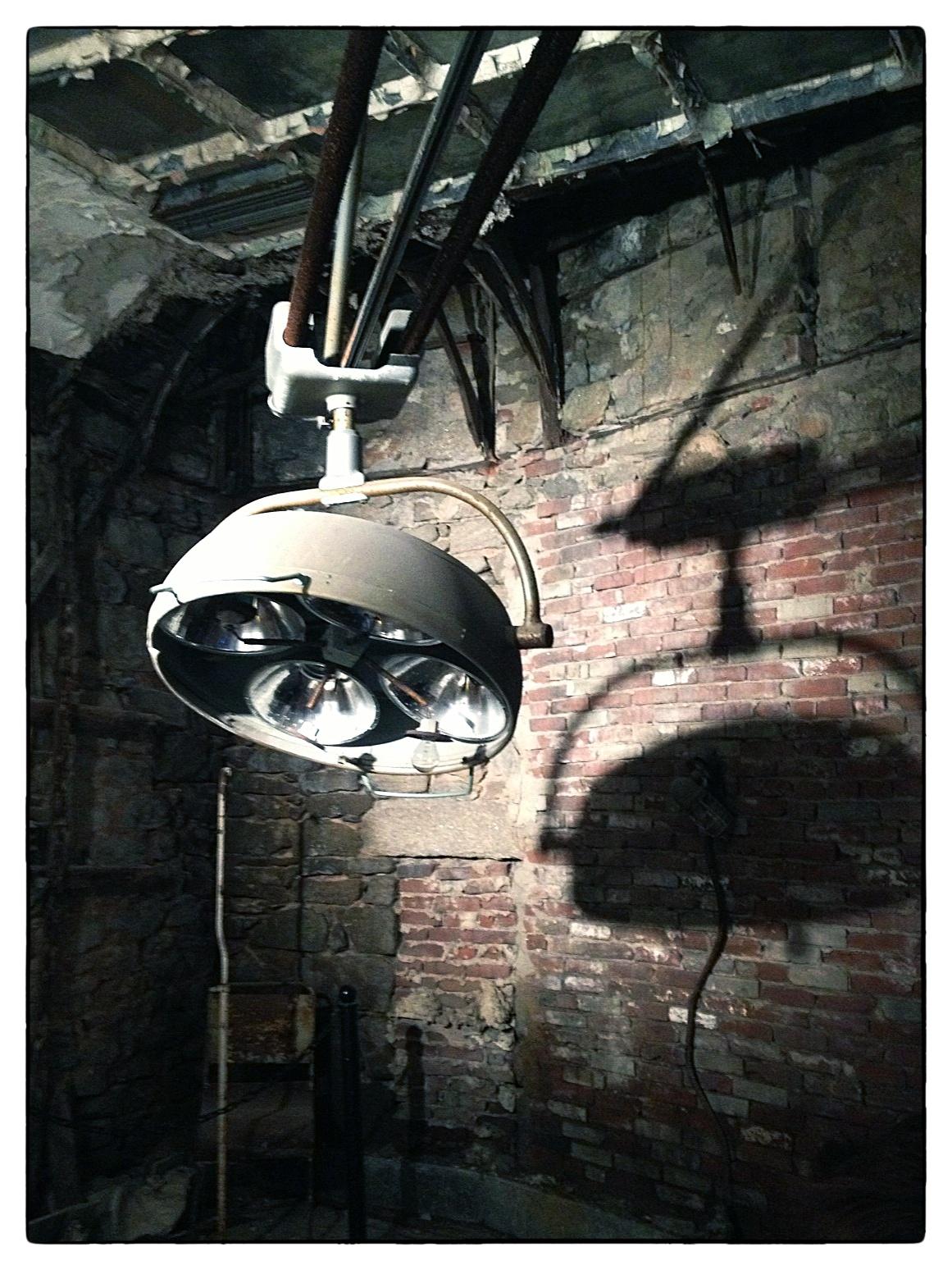 Operating Room at Eastern State Penitentiary in Philadelphia, shot September 4, 2013.
