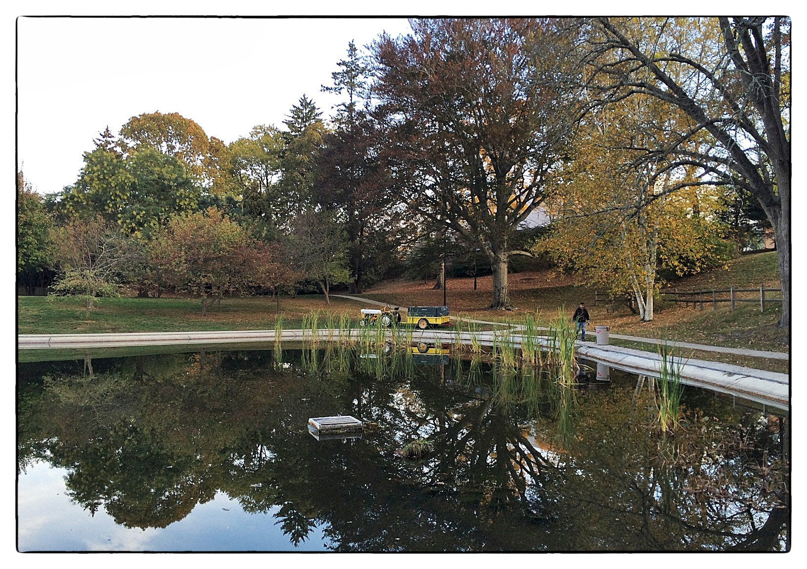 Wilcox Park, Westerly, R.I., shot October 23, 2013.