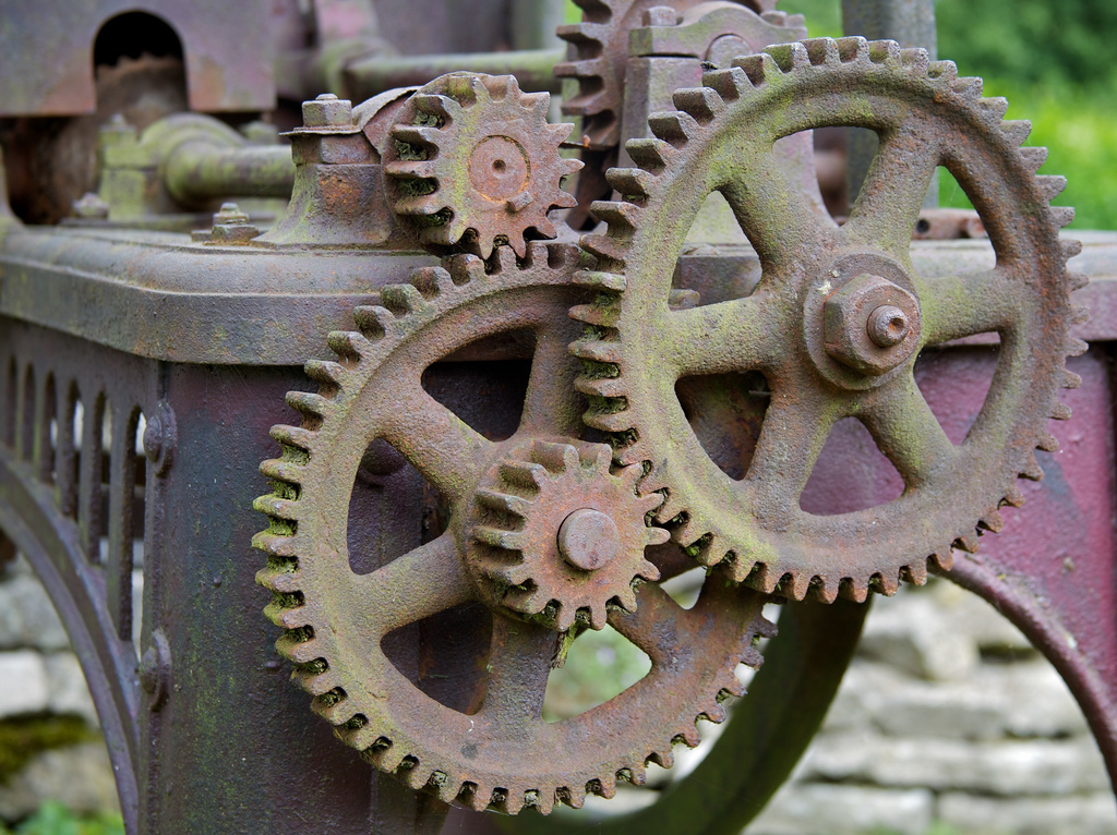 Gears Image by BinaryApe, used under Creative Commons License
