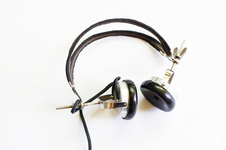 vintage operator headset