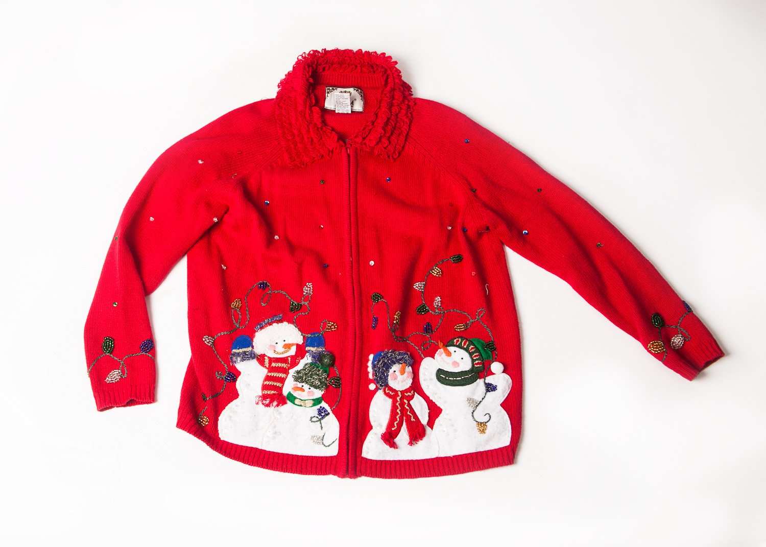 ugly Christmas sweater No. 1 (adult's size M)