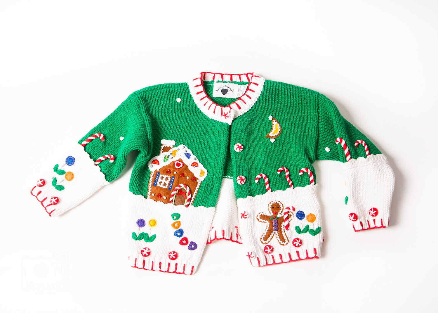 ugly Christmas sweater No. 2 (toddler size)