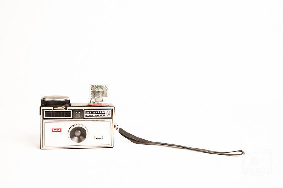 retro instamatic Kodak camera