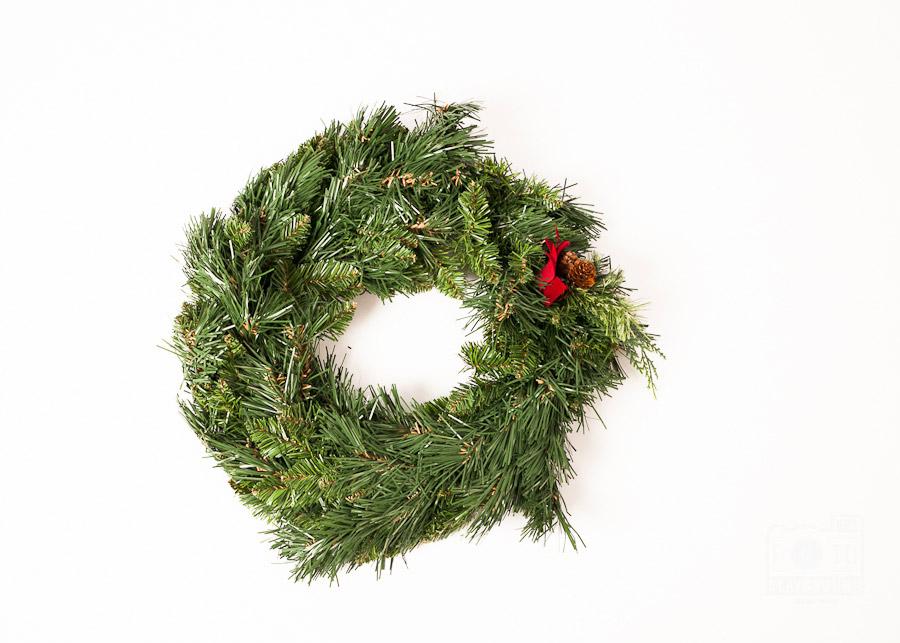fake wreath