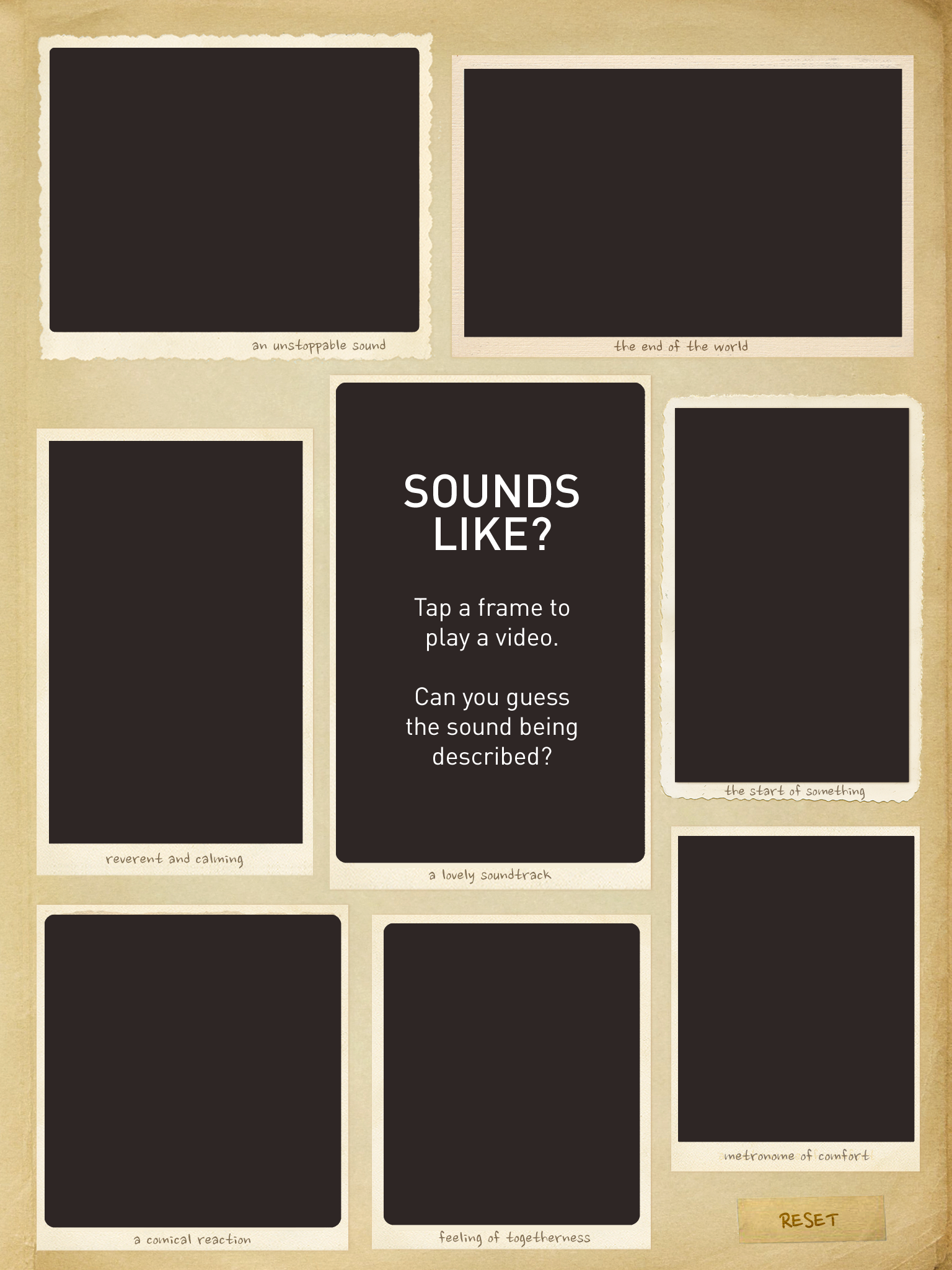 Sound Uncovered - iPad App for Science/ Topic in Year 3