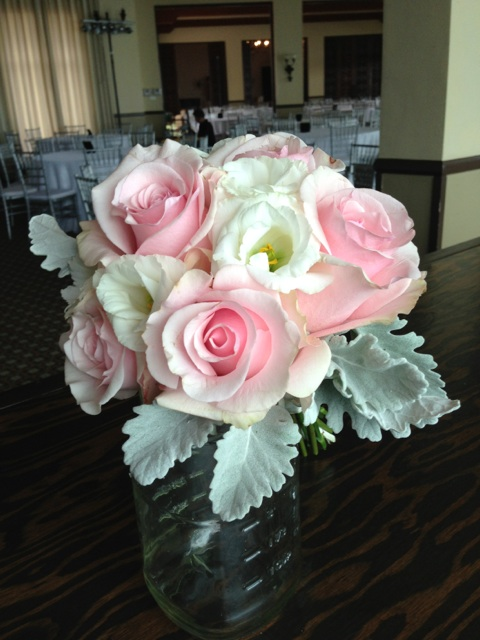 Bridesmaids, and the Maid of Honor bouquets.