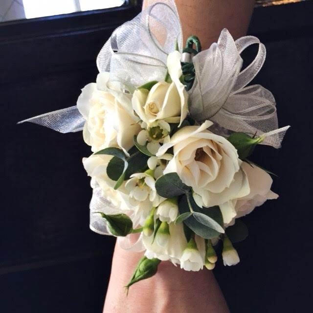 Wrist corsages (starting at $28)