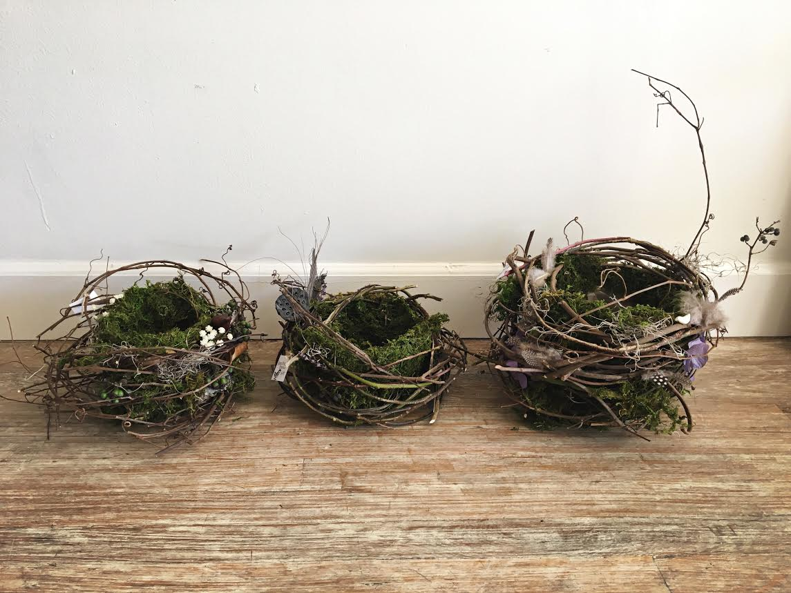 Custom, handmade baskets