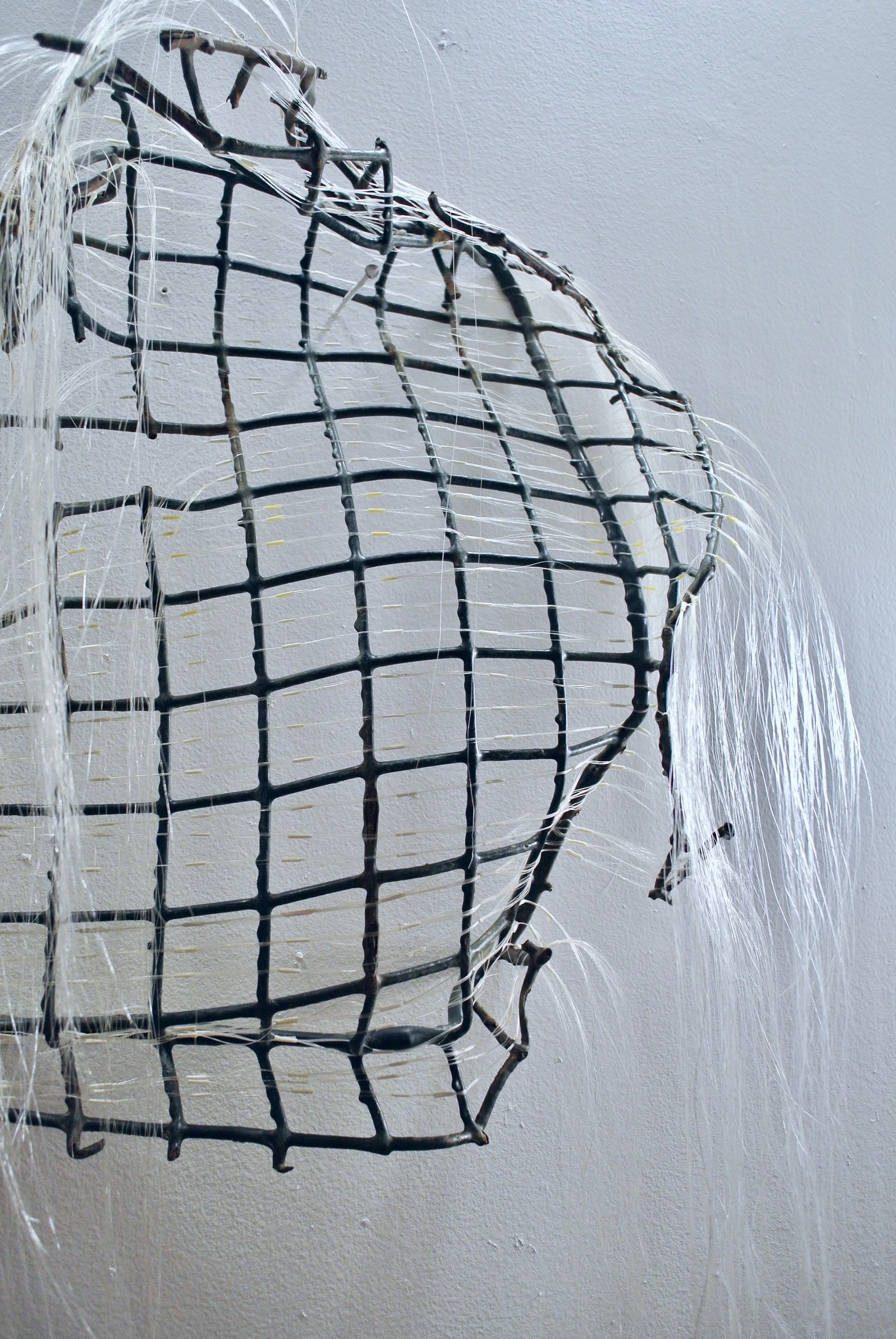 Barrier (blue lobster trap)