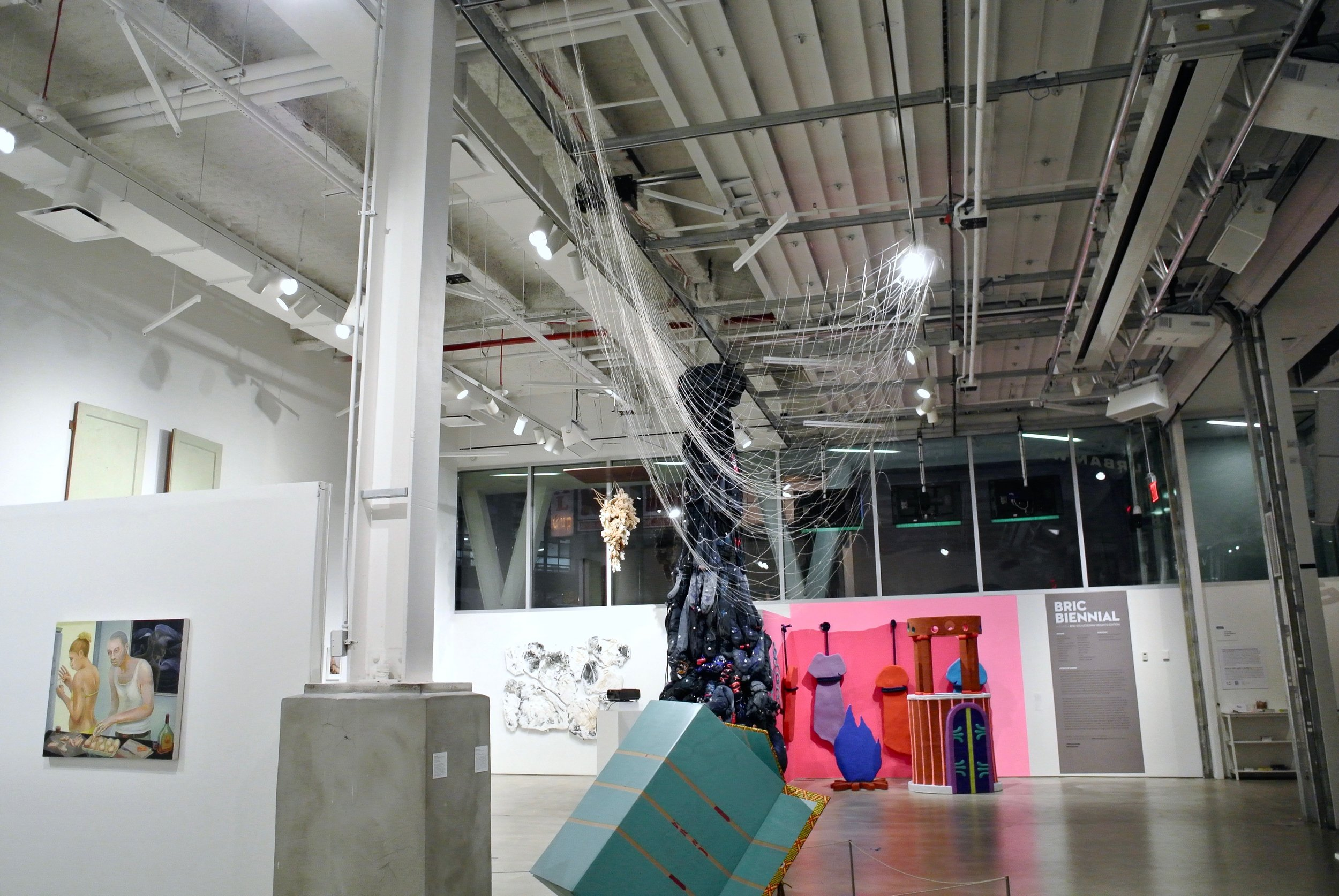 Installed at the  BRIC Biennial at BRIC House, Brooklyn, NY  November 2016 - January 2017