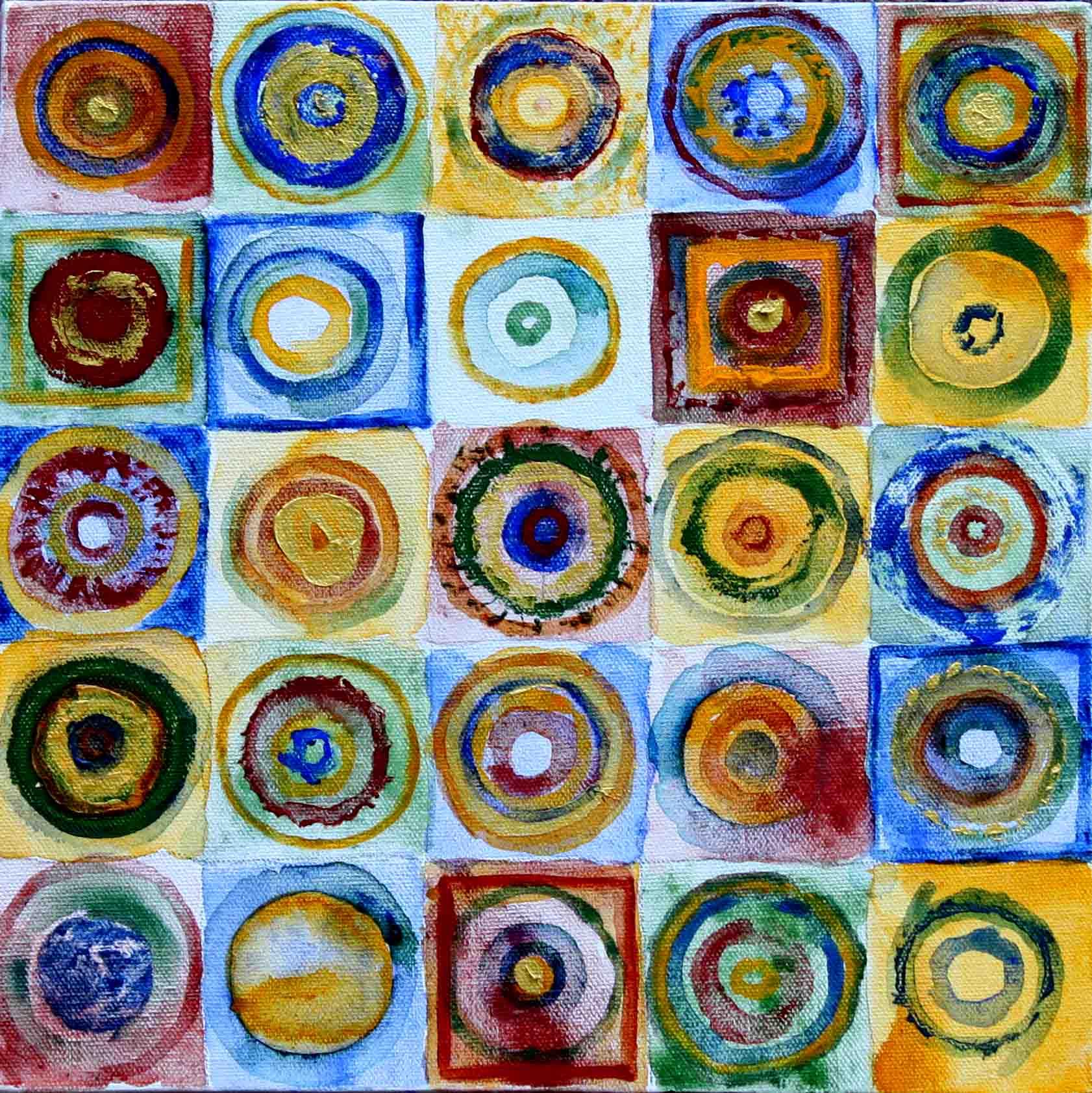 25 circles