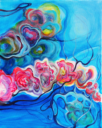"""Jelly   oil on canvas  20"""" x 16"""""""