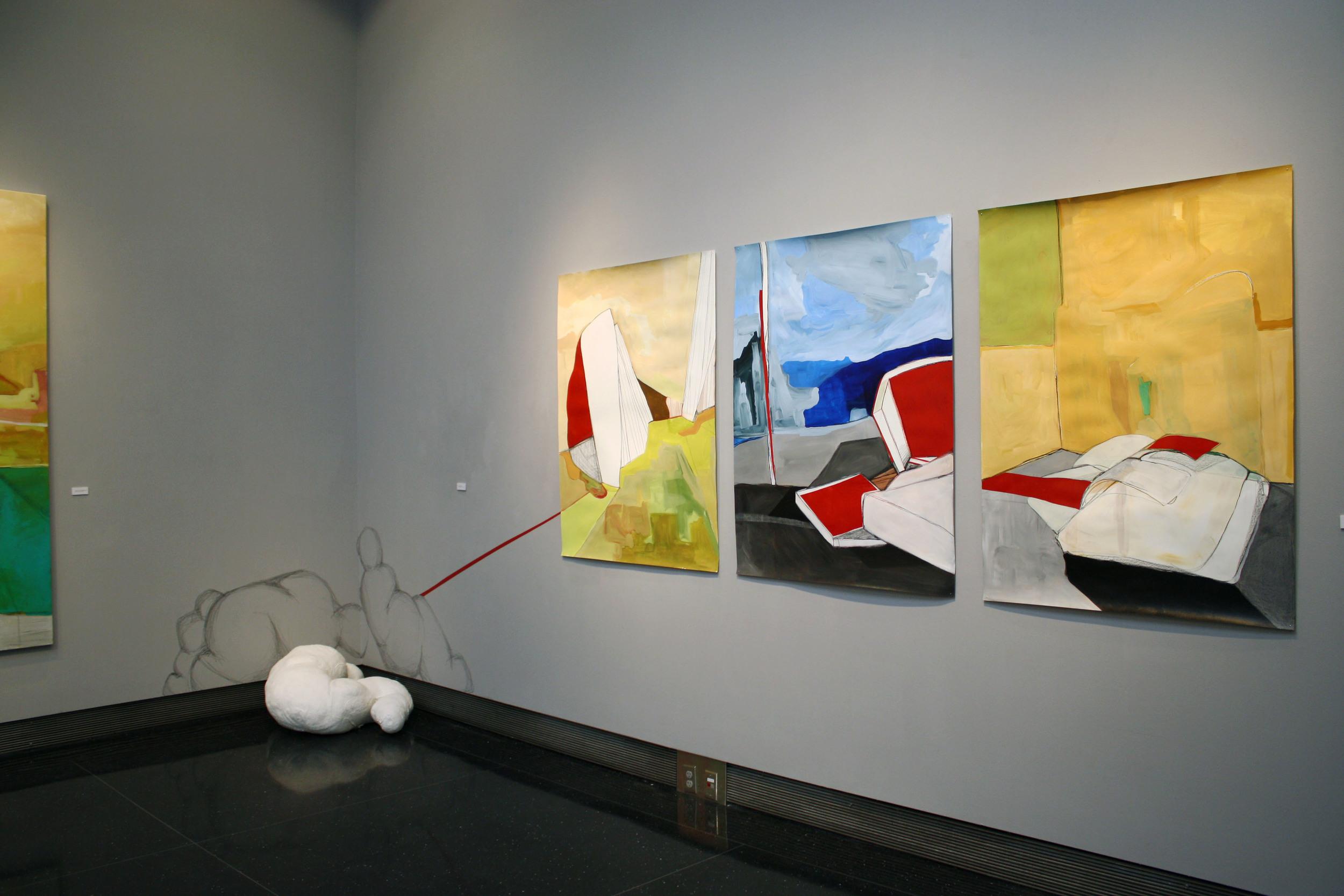 installation view - BFA Thesis Exhibition