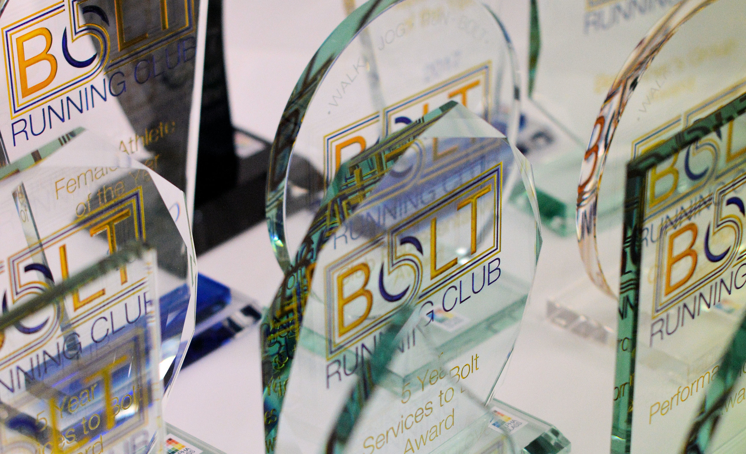 Bolt Running Club Awards - Annual Awards night 15th September 2017