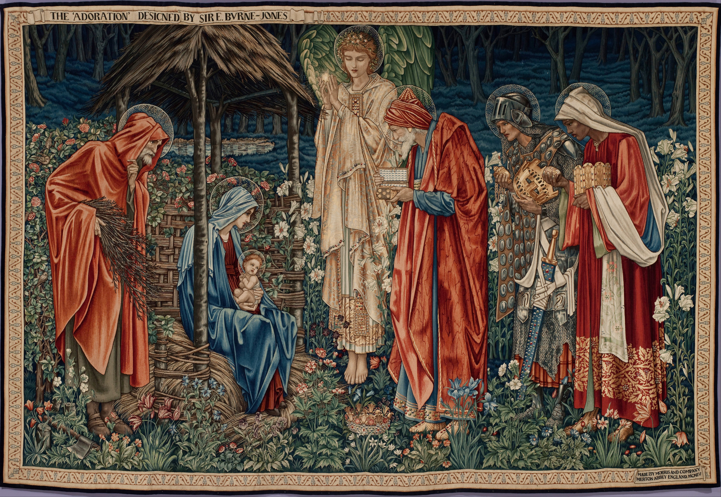 "Edward Burne-Jones - The Adoration of the Magi - Google Art Project"" by Edward Burne-Jones - uQHHRCrCrHZVdw at Google Cultural Institute. Licensed under Public domain via Wikimedia Commons"