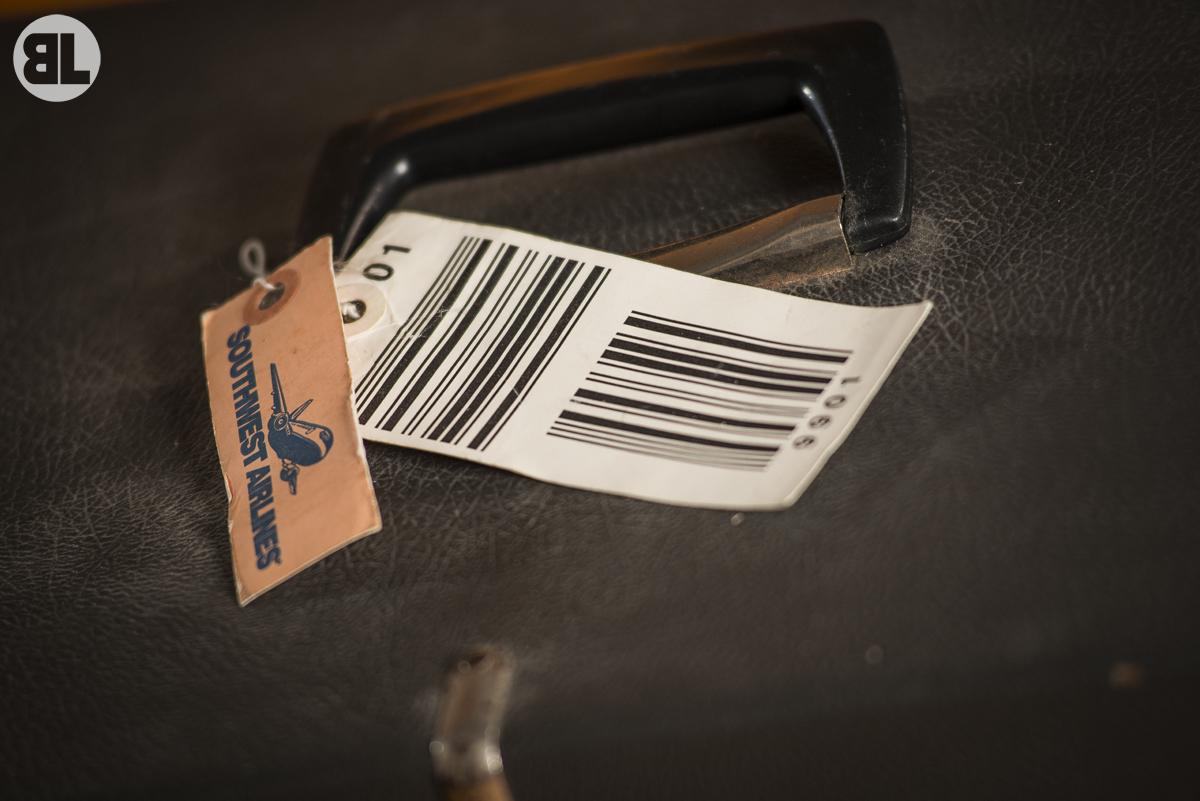 Old Baggage Tag