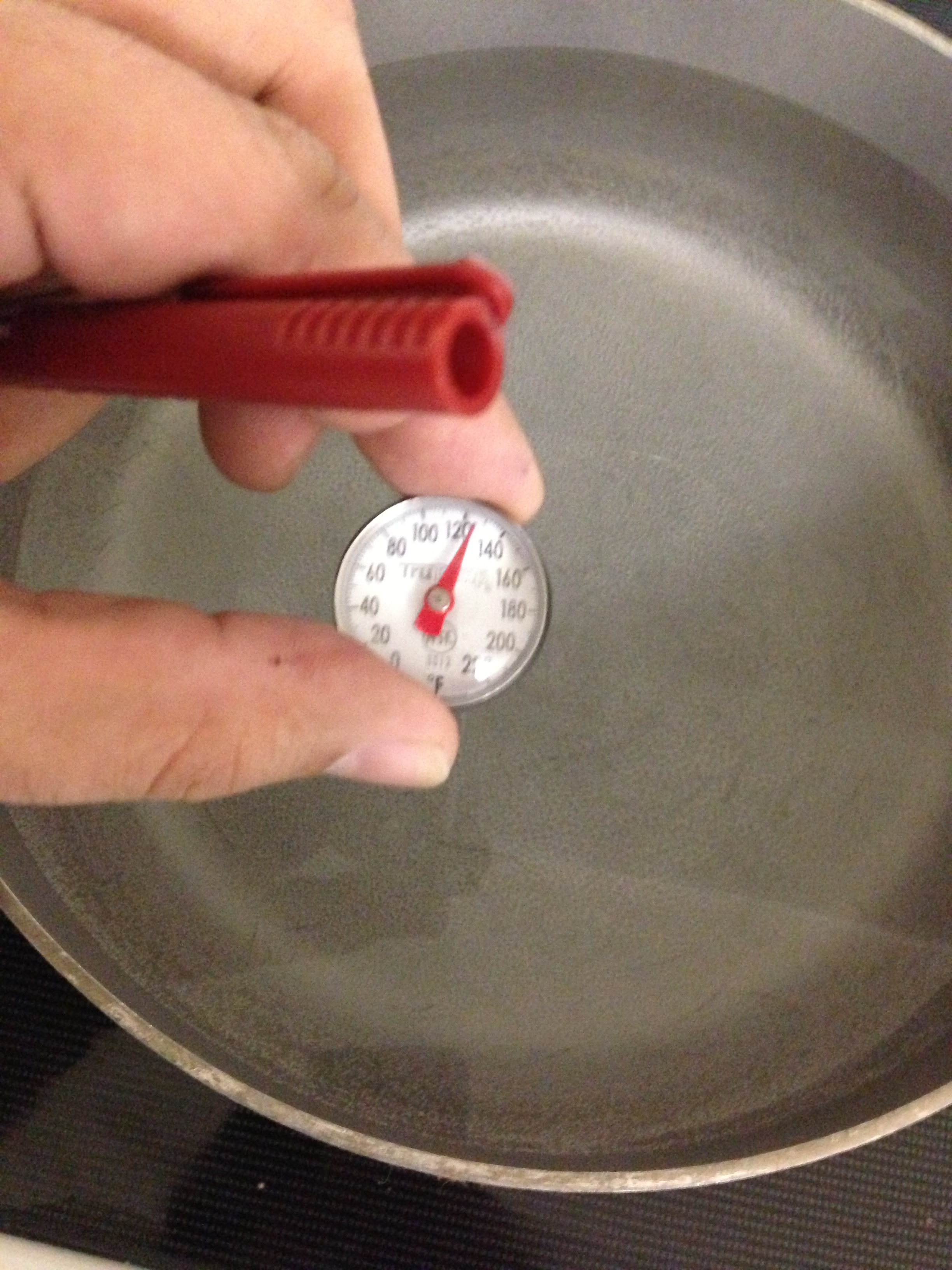 Temperature at 120F