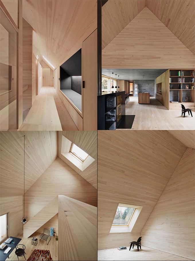 Haus am Moor by Bernardo Bader