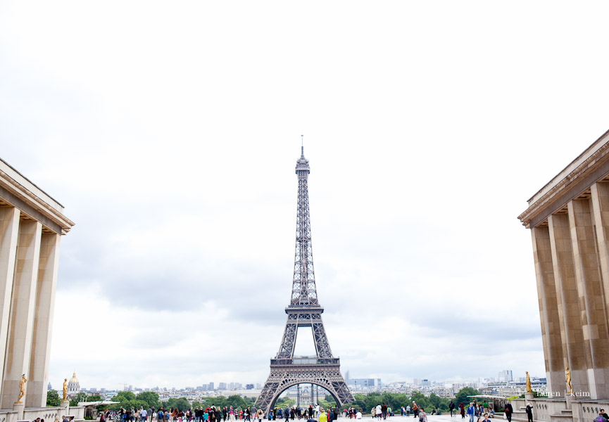 Eiffel Tower from the Trocadero