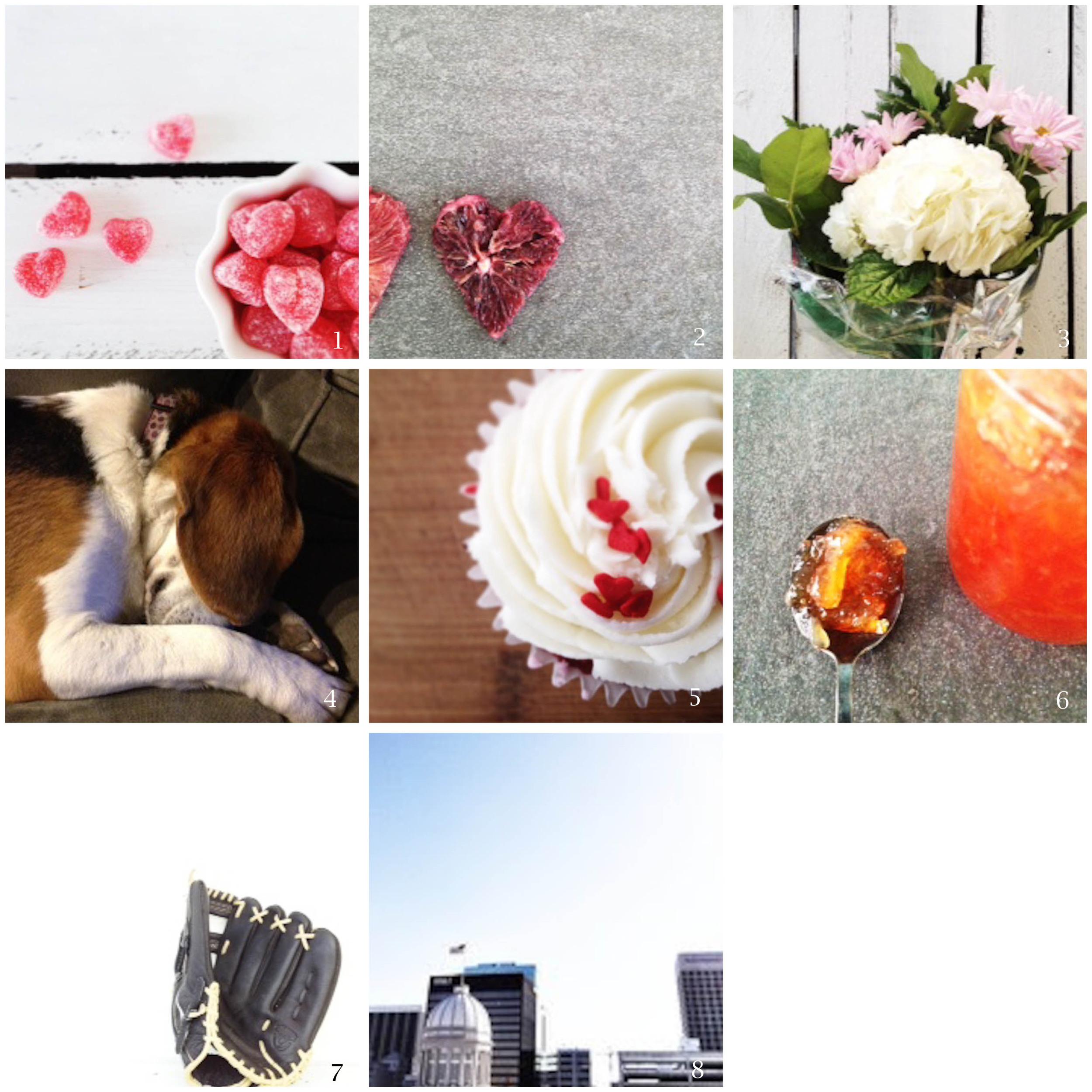 """1. valentine's candy that I almost ate all by myself 