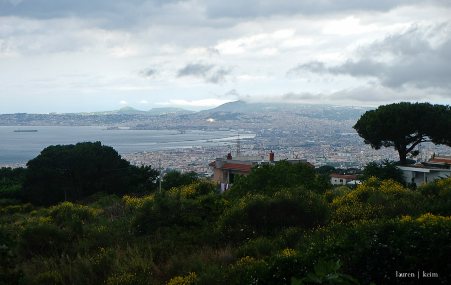 Bay of Naples and Naples