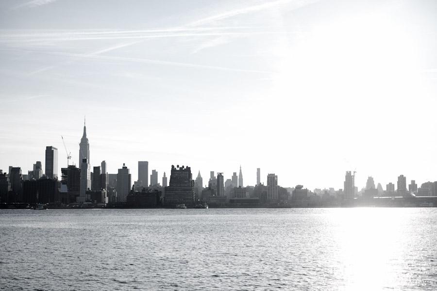 NYC Skyline | Fuji X-E2, 35mm