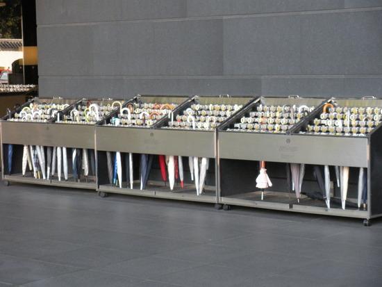 Umbrella holder at a museum (Photo credit:katesensei.blogspot.com)