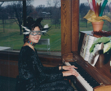 Pianist for Parties, Mardi Gras Party piano music.