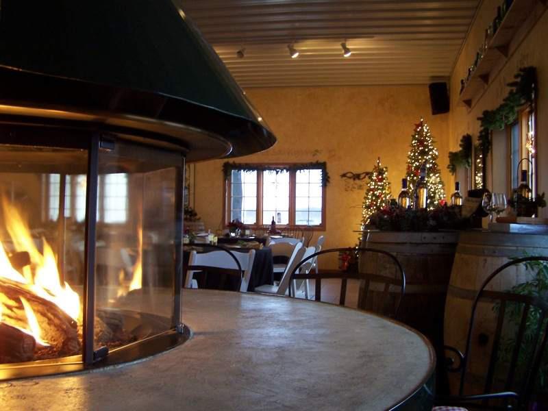 Wine Tasting Room, Carlos Creek Winery
