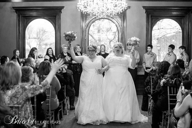 Wedding recessional at the Semple Mansion.  http://www.brioart.com/