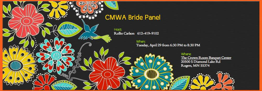 Central Minnesota Wedding Association hosted the 'Bride Panel'.