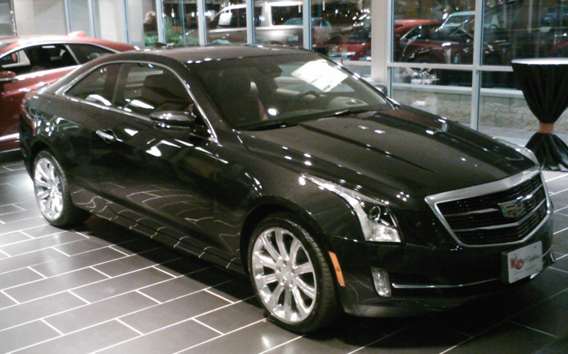 Key Cadillac ATS Coupe 2015