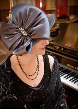 Lady Sharon Planer, Royal Event Pianist Photo: http://www.grinkiegirls.com/