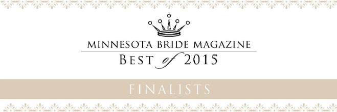 Best of 2015 Minnesota Bride Magazine Finalists