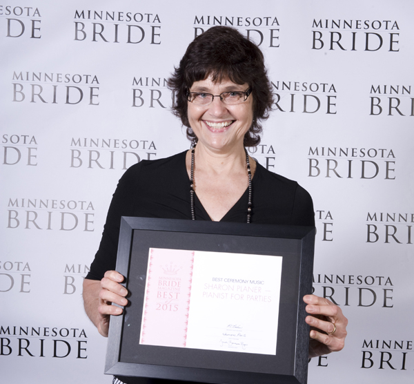 Pianist for Parties winner of Best Ceremony Music 2015 at MN Bride Magazine
