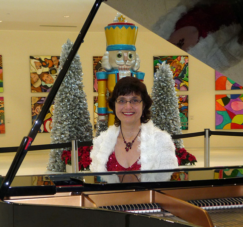 Sharon Planer Holiday Pianist, Mall of America