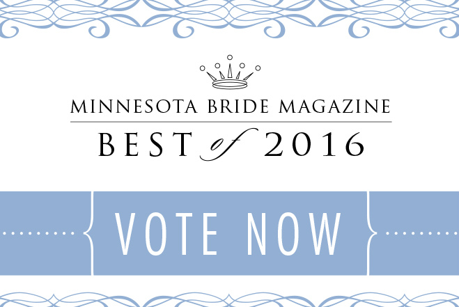 VOTE at Minnesota Bride 'Best of 2016'
