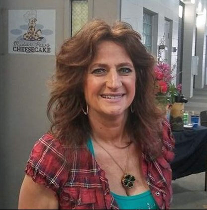 Tami Cabrera, owner of Muddy Paws Cheesecake