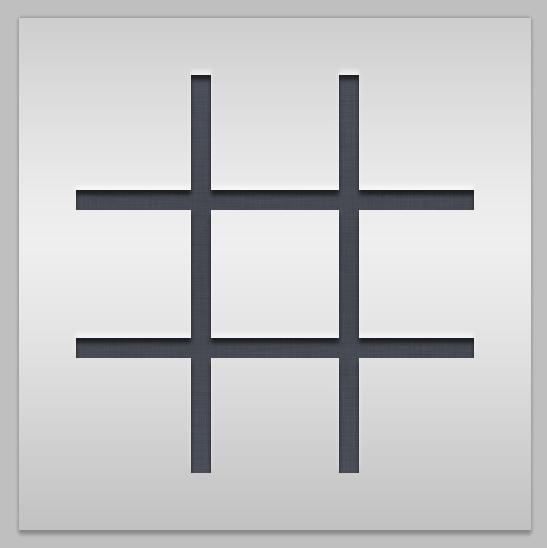 Simple Sudoku Icon Concept