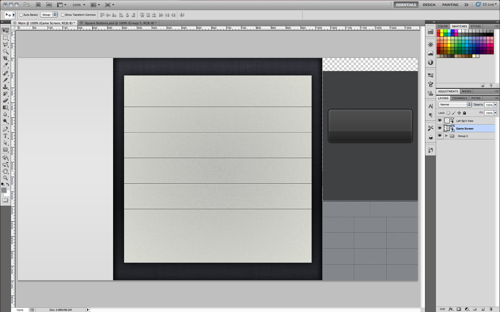 Large Photoshop Documents