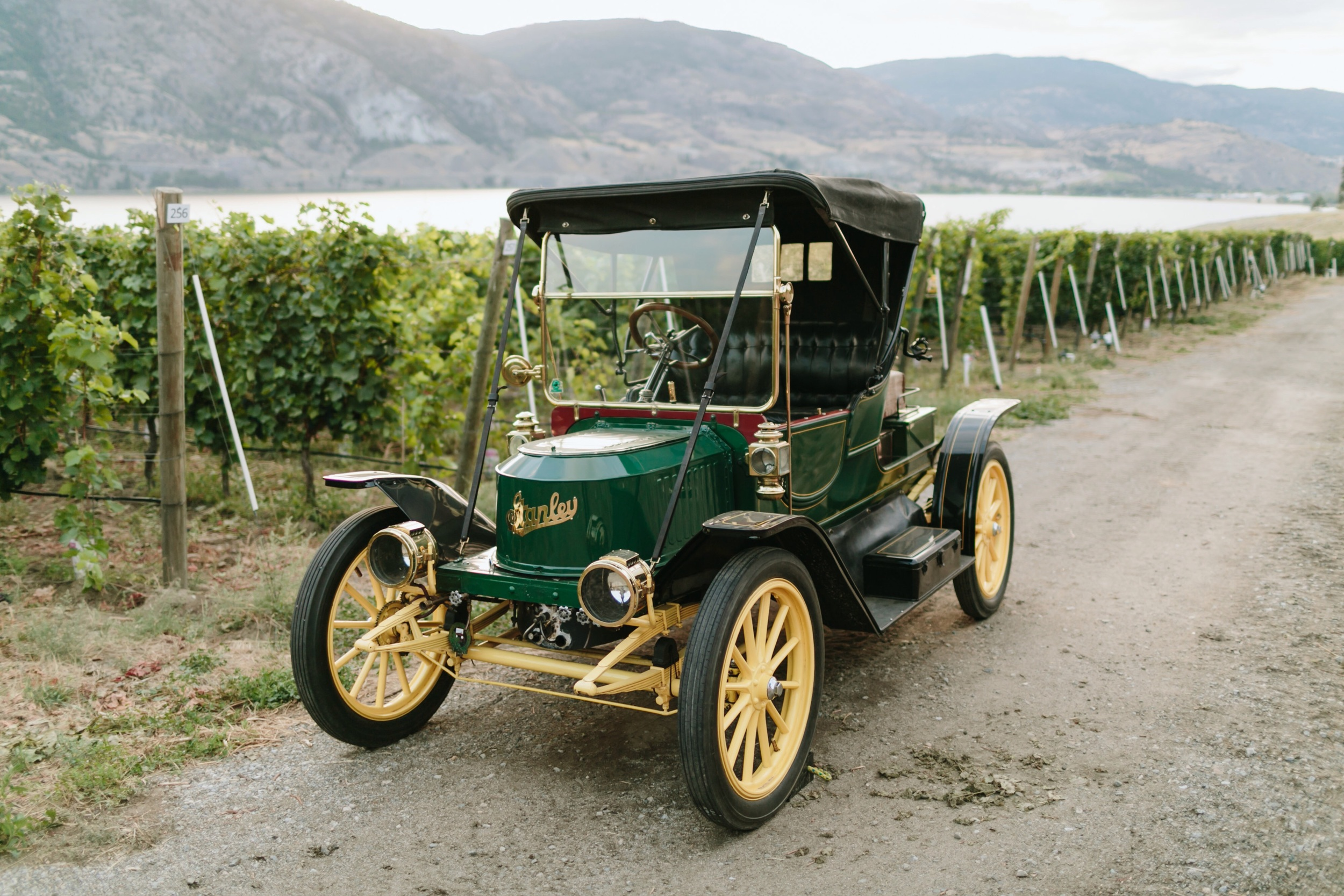 1911 Stanley Model 62 @ Painted Rock Winery in Penticton B.C