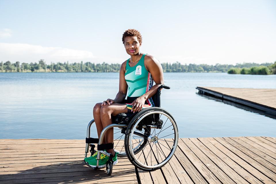 Paralympian - Sandra Khumalo - Ambassador