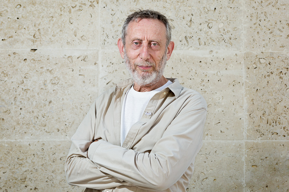 Michael Rosen is a poet, broadcaster, and writer among other things, and made the  BBC Radio 4 Appeal  on behalf of the  Meningitis Research Foundation . I photographed him at the BBC offices.