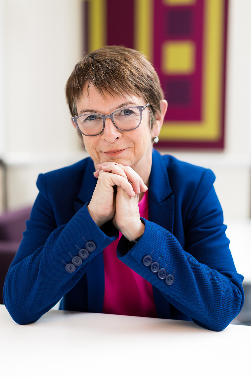 University of London Vice-chancellor Wendy Thomson